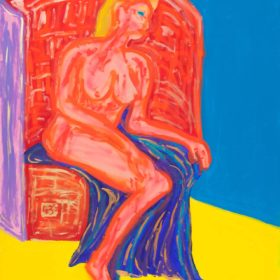 Nude, as Francis Bacon
