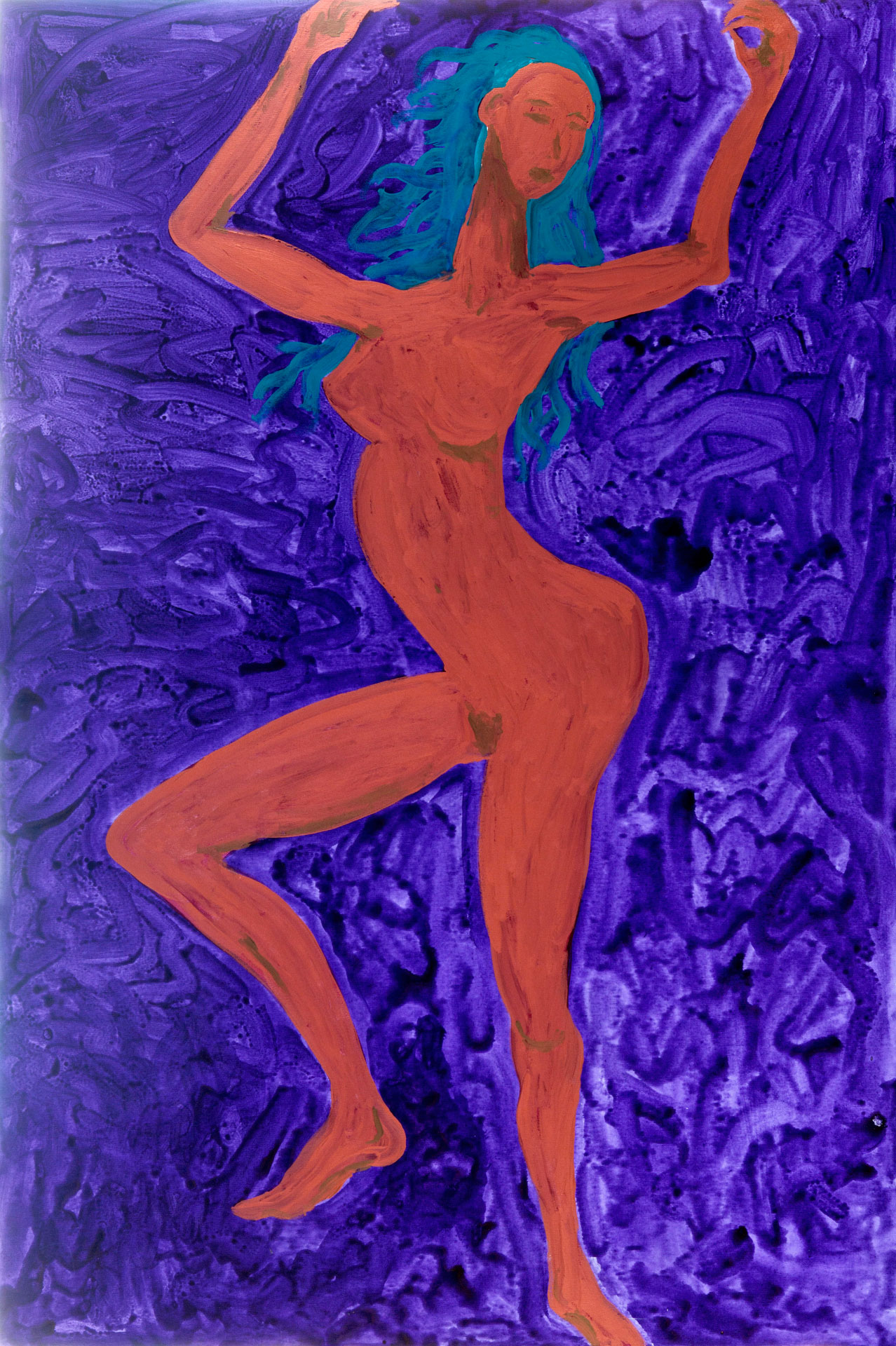 Dancer on Purple